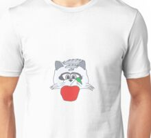 Raccoon Thief Design Unisex T-Shirt