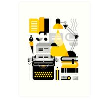 Creative Writing Art Print