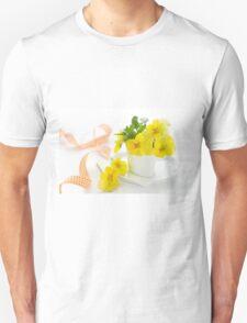 yellow pansy T-Shirt
