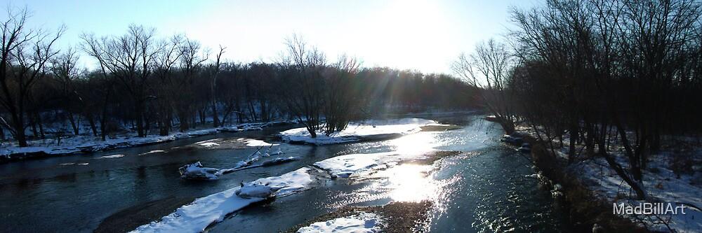 A River Runs Through It... by MadBillArt