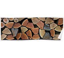 Split Wood - Darley Stud, Seymour Poster