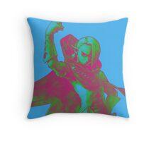Pop Art Demon Lord Throw Pillow