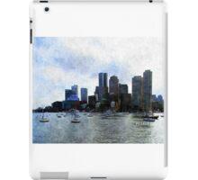 Boston Harbor  iPad Case/Skin
