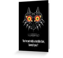 Majora's mask Tears Greeting Card