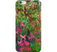 Butterfly mayhem iPhone Case/Skin