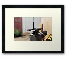 electric fretsaw Framed Print