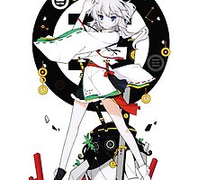 Touhou - Mononobe no Futo by Whitedark