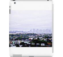 View from East Boston iPad Case/Skin