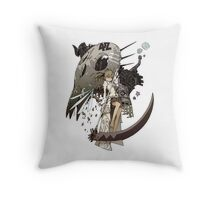 Soul Eater - Maka Albarn Throw Pillow