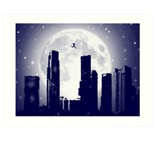 Top of the World! Art Print