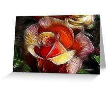 Rose Petal Dreams Greeting Card