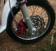 Custom Honda Chaly (front end) by Hugh Fathers
