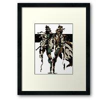 Metal Gear Solid - Solid & Liquid Framed Print
