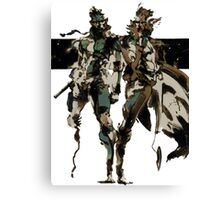 Metal Gear Solid - Solid & Liquid Canvas Print
