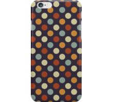 Retro Polka Dots iPhone Case/Skin