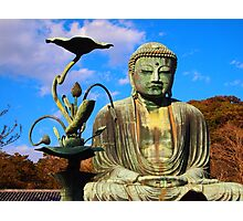 The Great Buddha of Kamakura Photographic Print