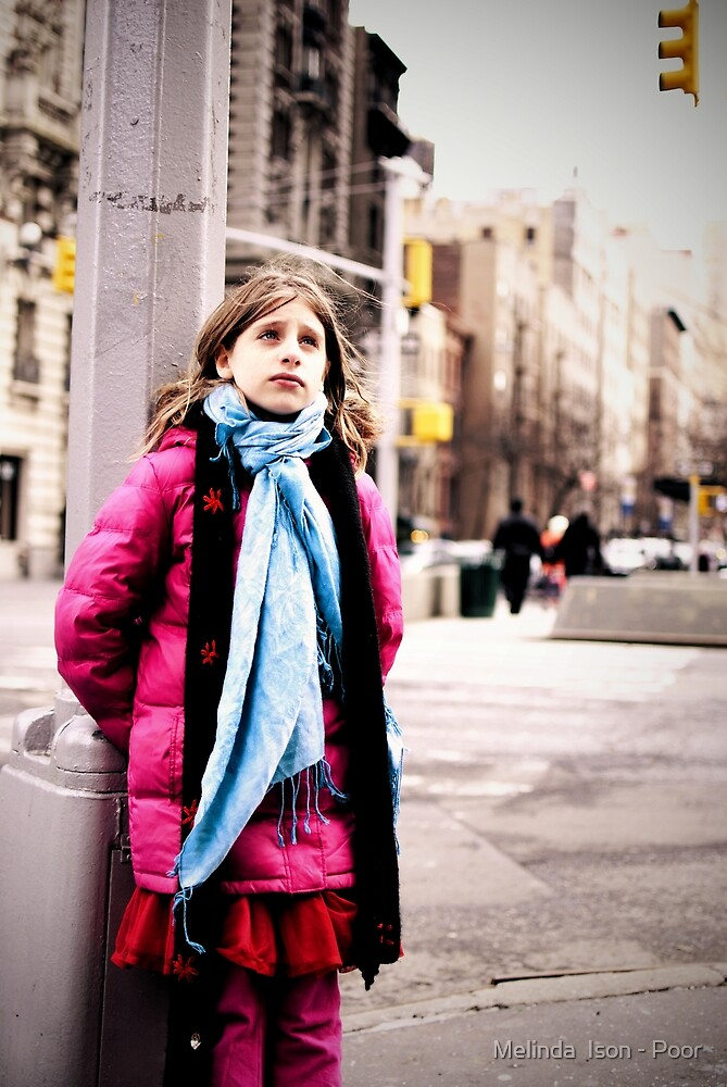 Cold in New York by Melinda  Ison - Poor