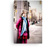 Cold in New York Metal Print