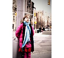 Cold in New York Photographic Print