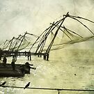 Kerala Fishing Nets by liamcarroll