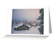 Christmas Eve in Finland Greeting Card