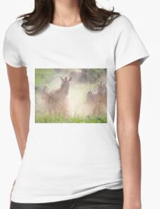 What's the Hurry Boys? - Kruger NP South Africa Womens Fitted T-Shirt