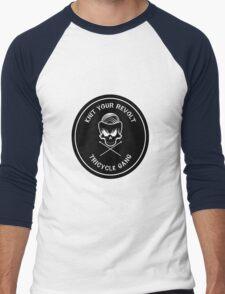 Knit Your Revolt Tricycle Gang 2 Men's Baseball ¾ T-Shirt