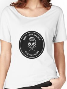 Knit Your Revolt Tricycle Gang 2 Women's Relaxed Fit T-Shirt