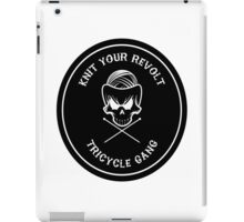Knit Your Revolt Tricycle Gang 2 iPad Case/Skin