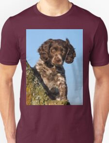 """I`m gorgerous"", German Spaniel puppy Unisex T-Shirt"