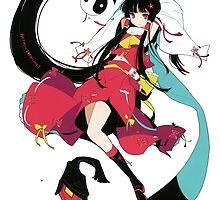 Touhou - Reimu Hakurei by Whitedark