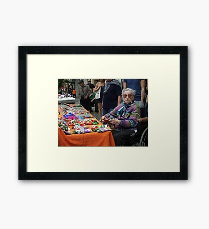 The colours of life Framed Print