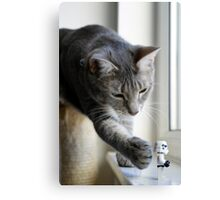 It's behind you! Canvas Print