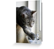 It's behind you! Greeting Card