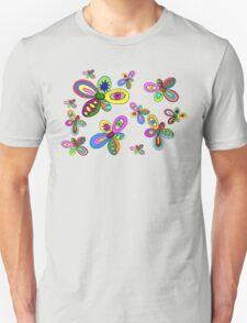 pattern flowers T-Shirt