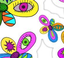 pattern flowers Sticker