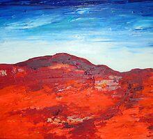 Red Sandhills by gillsart