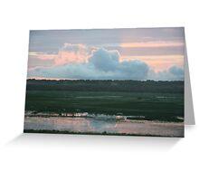 Sunrise over Fogg Dam Greeting Card