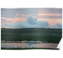 Sunrise over Fogg Dam Poster