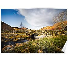 Watendlath Bridge - Cumbria Poster