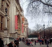 The Victoria and Albert museum by Cheryl Kay-Roberts