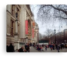 The Victoria and Albert museum Canvas Print