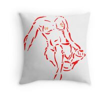 Nudity Two Throw Pillow