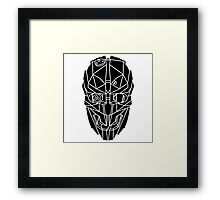 Dishonored 2 - Corvo's Mask Framed Print