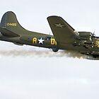 Boeing B-17G Flying Fortress by Yvonne Falk Ponsford