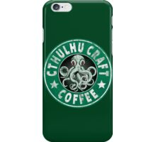 Cthulhu Craft Coffee iPhone Case/Skin
