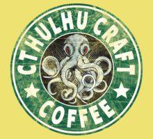 Cthulhu Craft Coffee One Piece - Short Sleeve