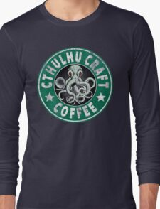 Cthulhu Craft Coffee Long Sleeve T-Shirt