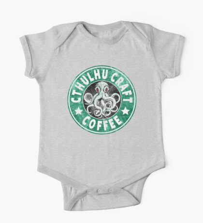 Cthulhu Craft Coffee One Piece - Short Sleeve