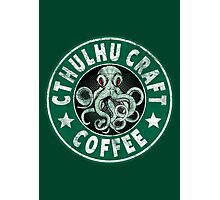 Cthulhu Craft Coffee Photographic Print